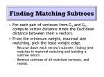 finding matching subtrees