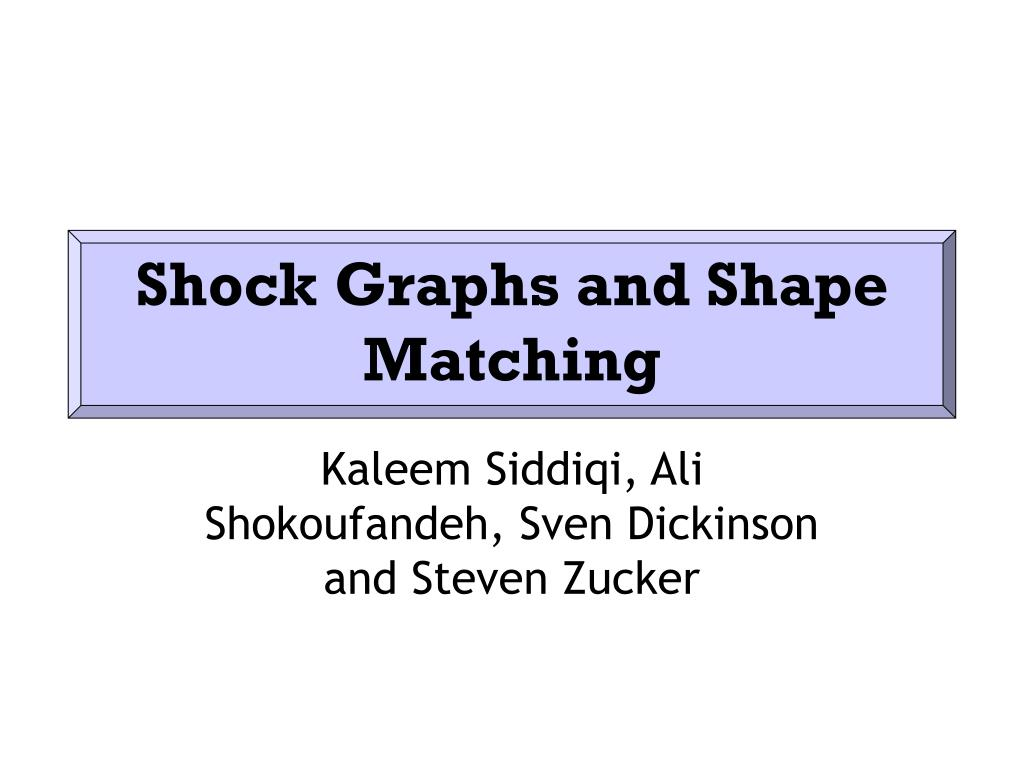 shock graphs and shape matching l.