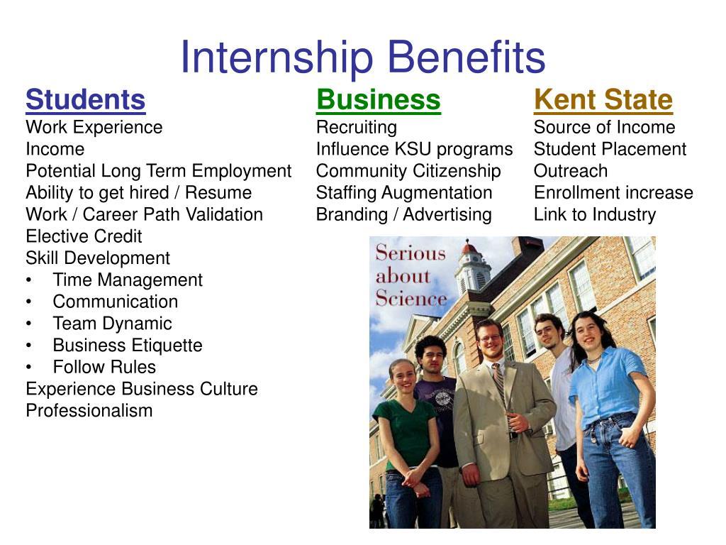 Internship Benefits