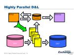 highly parallel d l