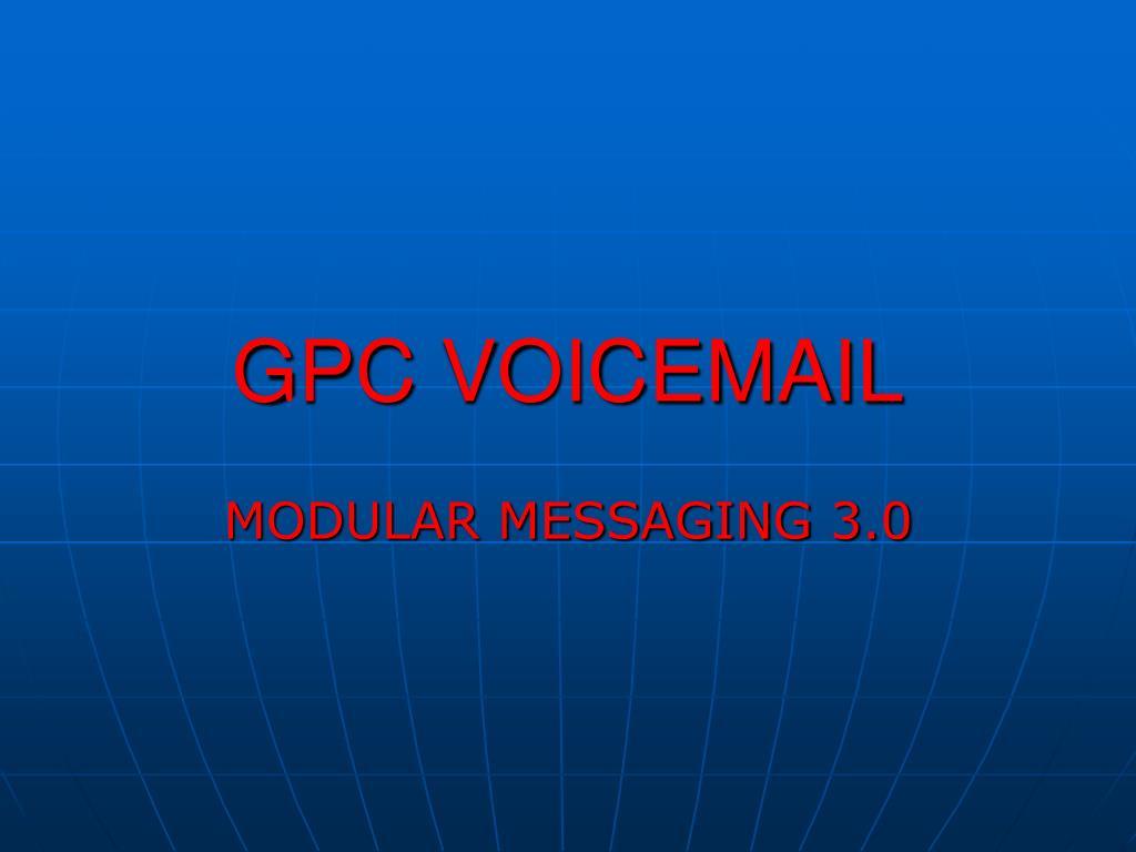 gpc voicemail l.