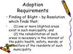 adoption requirements