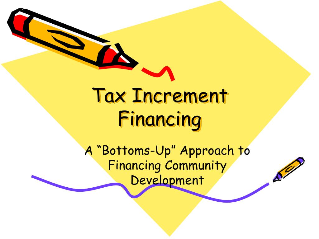 tax increment financing l.