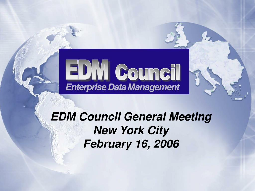 edm council general meeting new york city february 16 2006 l.