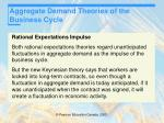 aggregate demand theories of the business cycle24
