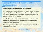 aggregate demand theories of the business cycle25