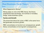 real business cycle theory41