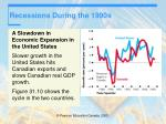 recessions during the 1990s47