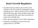 insect growth regulators77