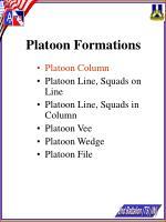 platoon formations15
