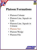 platoon formations21