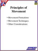 principles of movement