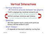 vertical interactions