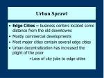 urban sprawl11