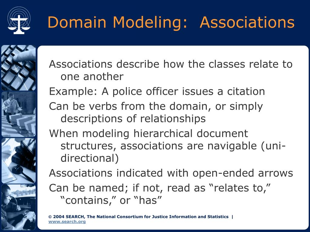 Domain Modeling:  Associations
