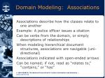 domain modeling associations