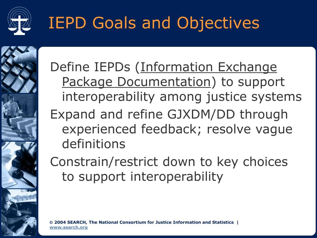 IEPD Goals and Objectives