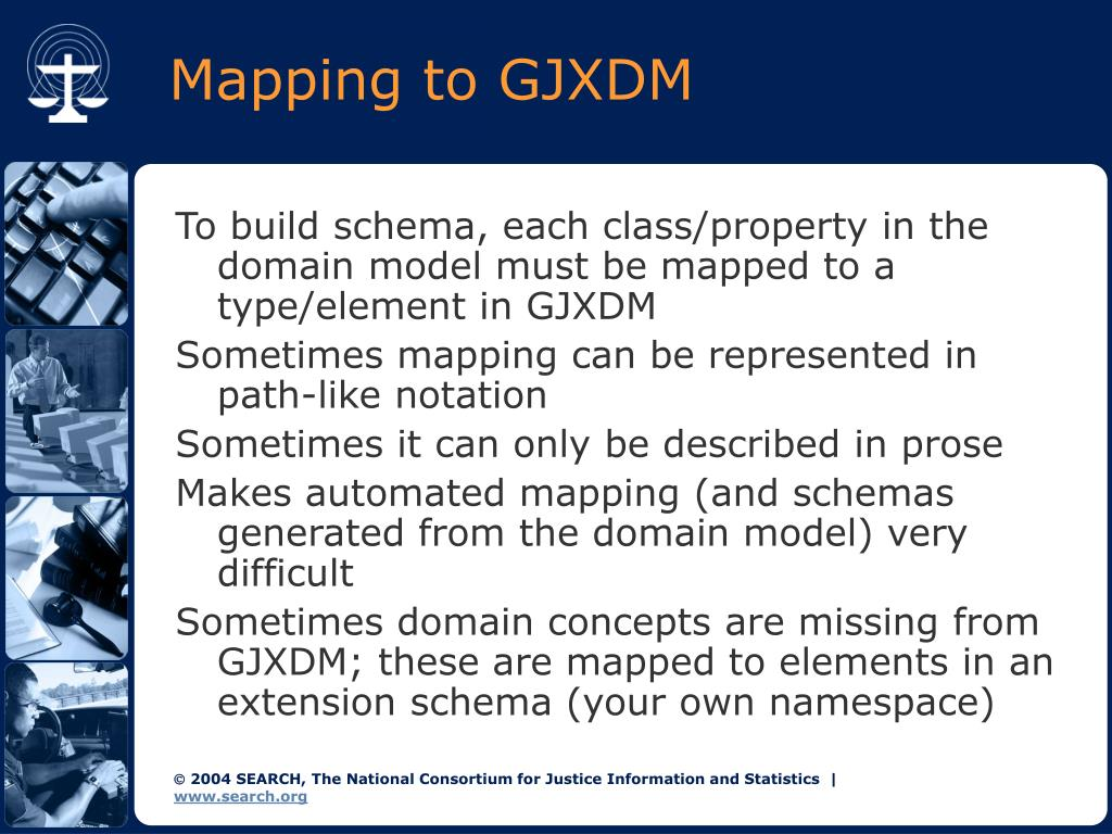 Mapping to GJXDM