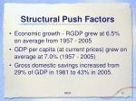 structural push factors