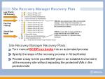 site recovery manager recovery plan1
