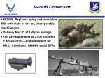 m 240b conversion