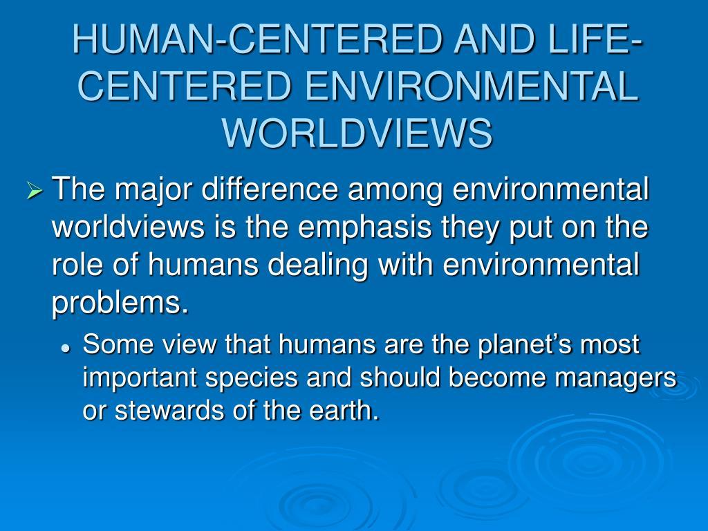 environmental worldview