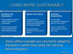 living more sustainably13