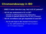 chromoendoscopy in ibd
