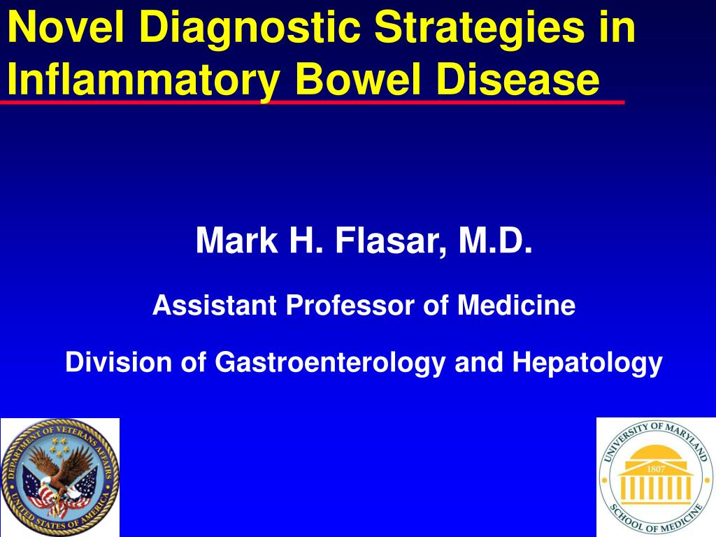 novel diagnostic strategies in inflammatory bowel disease l.