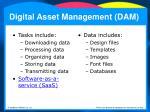digital asset management dam