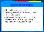electrophotography