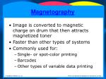magnetography