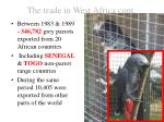 the trade in west africa cont