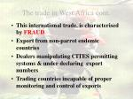 the trade in west africa cont8