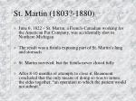 st martin 1803 1880