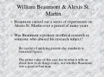 william beaumont alexis st martin
