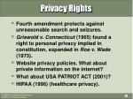 privacy rights