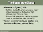 the commerce clause14