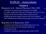 nafld antioxidants