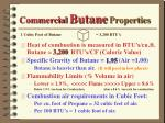 commercial butane properties