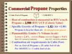 commercial propane properties