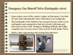 emergency gas shut off valve earthquake valve