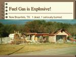 fuel gas is explosive5