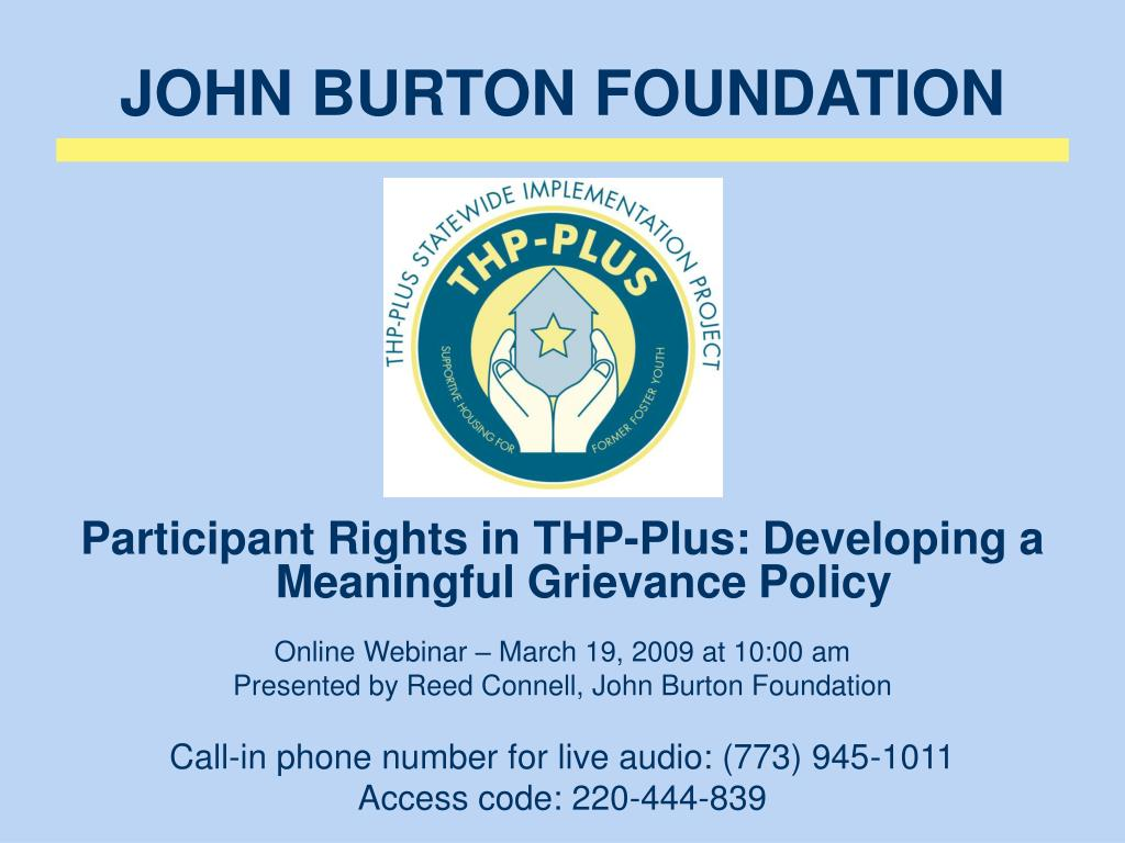john burton foundation l.