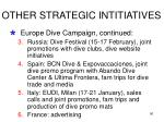 other strategic intitiatives84