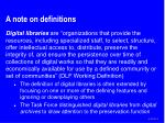 a note on definitions