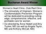 buchanan award winner