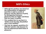 mill s ethics