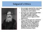 sidgwick s ethics