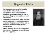 sidgwick s ethics24